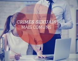 crimes sexuais mais comuns